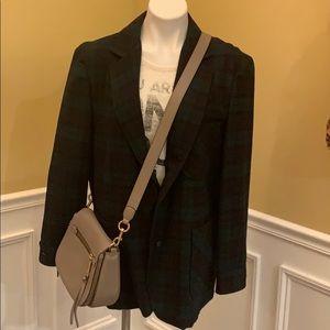 Pendleton Plaid Vintage Blazer Sz L